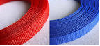 Expandable Braided Socking Red/Blue 25m