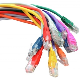 Cat5e Booted UTP RJ45 Patch Leads