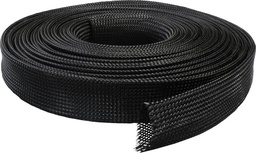 Expandable Braided Black 25m
